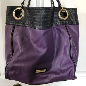 Large Steve Madden purple tote/purse